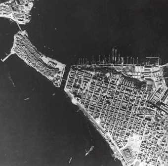 Aerial picture of Taranto