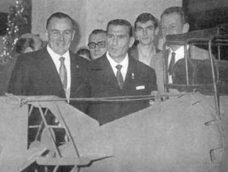 25th anniversary (1966) - From left to right: Bianchi, Marino e de La Penne.