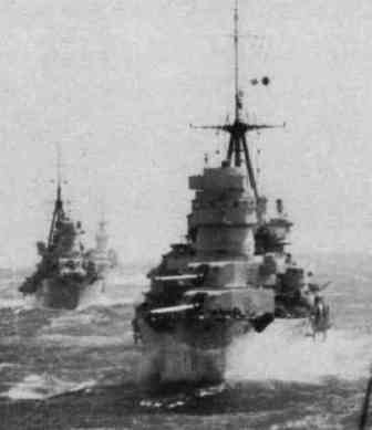 The Italian 7th cruiser Division