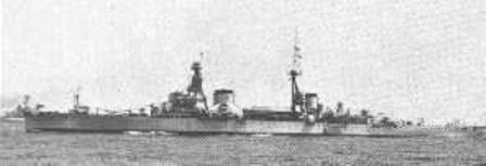 The 13,109 ton heavy cruiser Trento