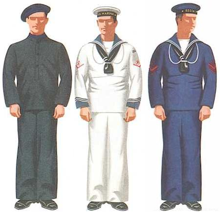 Left: 1st Class Seaman