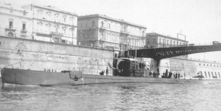The  Filippo Corridoni in Taranto.</br>