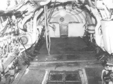 Another photo of the CB 20. This the aft compartment (engine room). 